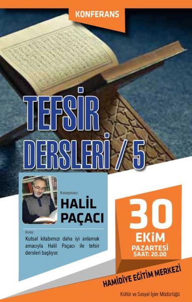 TEFSİR DERSLERİ / 5