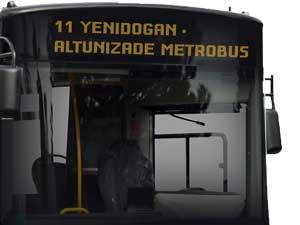 11 YENİDOGAN - ALTUNİZADE METROBUS